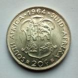 ЮАР 20 центов 1964 г., фото №5