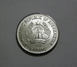 Афганистан 500 афгани 1986 - XV Зимняя Олимпиада. Калгари-88. ФИГУРНОЕ КАТАНИЕ - серебро, фото №3