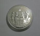 Эфиопия, 20 быр 1979 - ГОД ДЕТЕЙ - серебро, фото №2