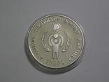 Эфиопия, 20 быр 1979 - ГОД ДЕТЕЙ - серебро, фото №3