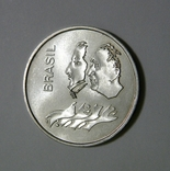 Бразилия, 20 крузейро, 1972 - 150 лет НЕЗАВИСИМОСТИ - серебро, фото №3