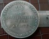 Медаль памятна 1935- Саар Німеччина.-копія , не магнітна, посрібнення 999, фото №2