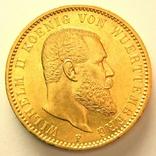 Вюрттемберг 20 марок 1894 г., фото №2