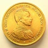 Пруссия 20 марок 1913 г., фото №3