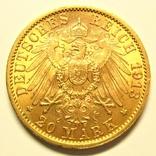 Пруссия 20 марок 1913 г., фото №4