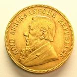 ЮАР фунт 1898 г., фото №2