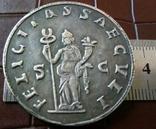 Рим Імператор Смоктаніанус копія срібної -посрібнення 999, фото №3