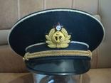 Фуражка ВМФ СССР ф-ка Зарница, фото №3