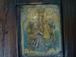 Старая икона в киоте, фото №4