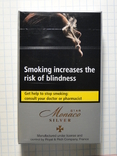 Сигареты MONACO STAR SILVER фото 2