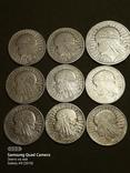 5 і 10 злотих ,Польща,срібло,1932,33,34., фото №2