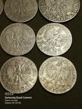 5 і 10 злотих ,Польща,срібло,1932,33,34., фото №6