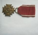 Крест за Заслуги в бронзе  государственная награда cоциалистической Польши низшей степени, фото №2