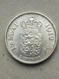 Дания 2 кроны юбилейные 1937 г., фото №3