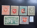 Литва. 1919 г-1921 г. Геральдика. MLH / MH, фото №2
