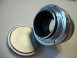 Объектив юпитер-8 белый оригинальная передняя крышка, фото №5
