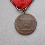 Франция. Медаль. Участник битвы при Вердене 1916 г., фото №5