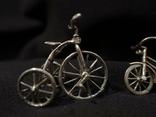 Велосипеды серебро 800 2 шт., фото №3