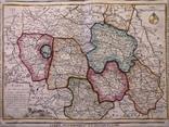 1790 Шампань, Париж, Деснос (большая карта 52х33 Верже) СерияАнтик, фото №3