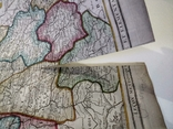 1790 Шампань, Париж, Деснос (большая карта 52х33 Верже) СерияАнтик, фото №9