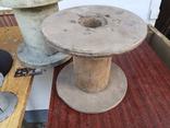 Бухта катушка для проволки метал пластик дерево, фото №4