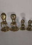 Статуэтка фигурка миниатюра бронза латунь бронзовая латунь, фото №2