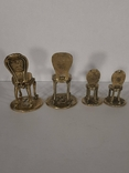 Статуэтка фигурка миниатюра бронза латунь бронзовая латунь, фото №5