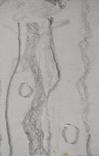 "Л.Ястреб ""Монументальный эскиз"",б.карандаш,31х21см,1970-е гг., фото №9"