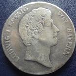 Кроненталер 1832 Людвиг I Бавария серебро  (3.3.7), фото №2