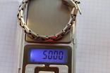 Браслет серебро 925, фото №7