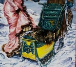 Зимние катания. Березина К. копия, фото №6