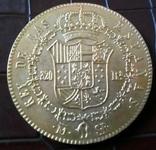 320 рейс 1822 року Іспанія -велика копія золотої /позолота 999/, фото №3