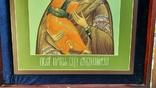 Икона Владимировская в подарочном футляре. Размер иконы 30 на 27 см, фото №4