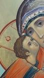 Икона Владимировская в подарочном футляре. Размер иконы 30 на 27 см, фото №9