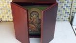 Икона Владимировская в подарочном футляре. Размер иконы 30 на 27 см, фото №13