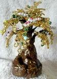 Дерево из бисера 1., фото №5