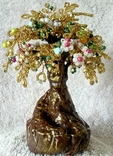 Дерево из бисера 1., фото №6