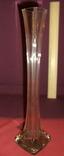 Ваза Берц - авторское стекло. Высота 40 см., фото №8