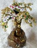 Дерево с бисера 2., фото №4