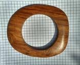 Браслет из ценой породы дерева, фото №3