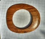 Браслет из ценой породы дерева, фото №4
