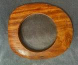 Браслет из ценой породы дерева, фото №2