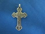 Крестик серебро 84 пробы., фото №2