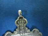 Крестик серебро 84 пробы., фото №6