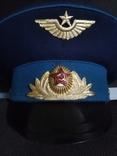 Фуражка ВВС парадная 1, фото №6