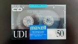 Касети Maxell UD-I 50 (Release year 1988), фото №2