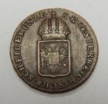 1/4 крейцера, 1816 S Австрия, фото №3