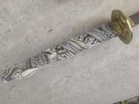 Коллекционная Катана с необычной рукоятью 100 см, фото №7
