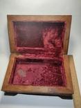 Шкатулка  деревянная, резная., фото №8