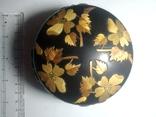 Шкатулка прикрашена візерунком з соломки, фото №3
